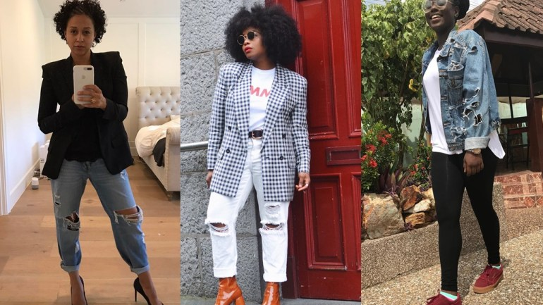 Street Style: How To Rock Your Distressed Jeans Like The Instagram Socialites!