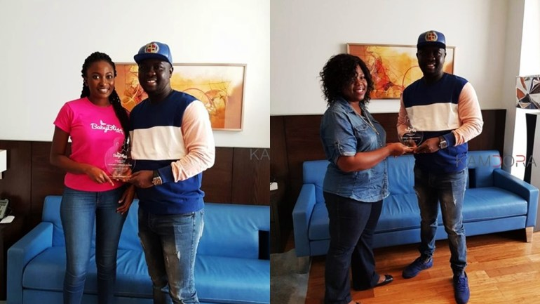 Comedian Seyi Law Is Honored With The BabyBliss Father Of The Year Award