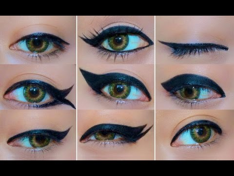 Watch This – 9 Different Ways To Line Your Eyes Perfectly!