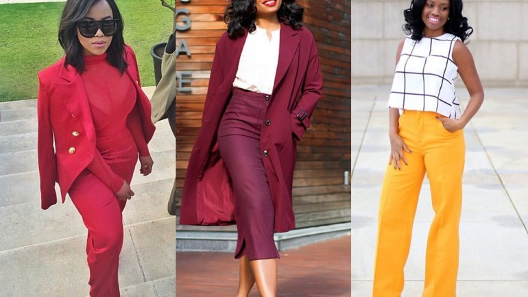 Brighten Your Co-workers Day With These Colorful Work Inspired Outfits
