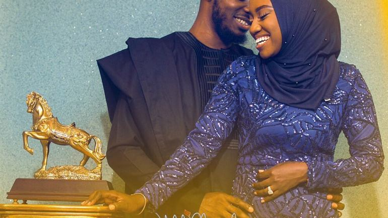 Amina & Abdul's Beautiful Pre-Wedding Shoot Captured By Jide Kola