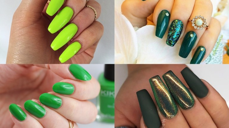 Mondays Are For Manicures – Go Green!