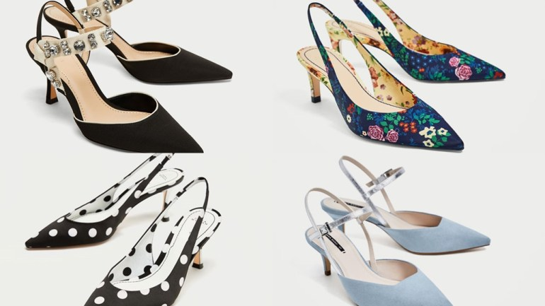 Zara Makes A Case for Slingback Heels With These Gorgeous Options!