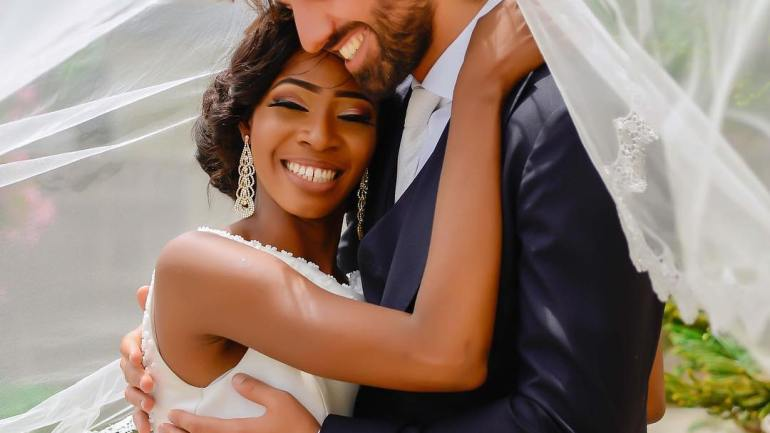 More Than A Yoga Story: Italian Man Marries Nigerian Yoga Instructor!