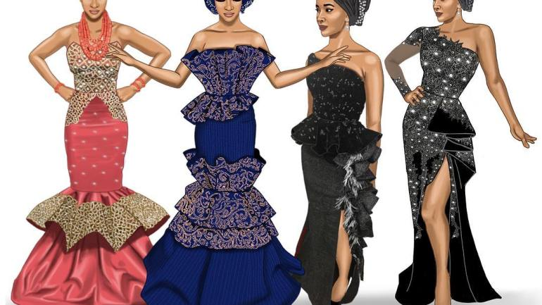 #BAAD2017: One Bride, 4 Styles- Which Of These Styles Do You Love Best?