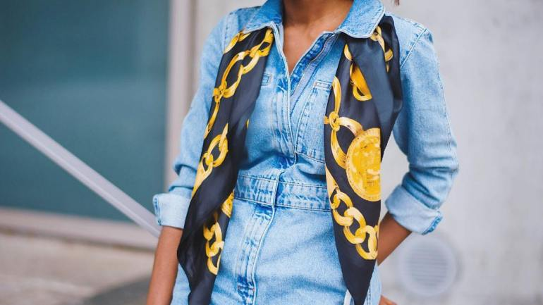 6 Stylish Ways To Style Your Scarf!