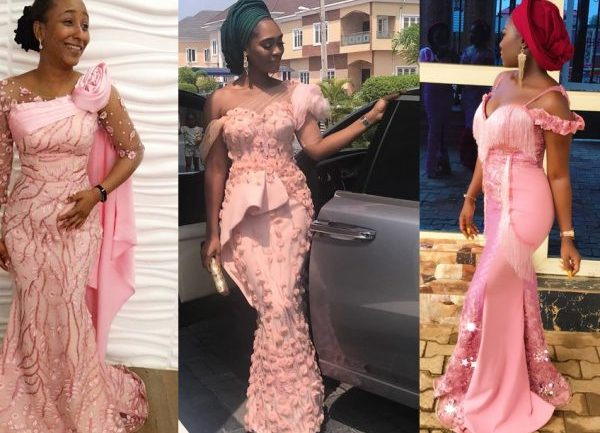 Aso-Ebi Styles #132: Slay In A Pink Themed Outfit!