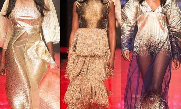 Queen Of The Runway In Nigeria! Naomi Campbell Walks The Runway With Oluchi Orlandi & Ojy Okpe