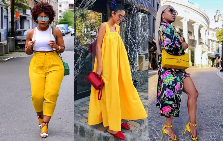 Outfit Ideas For Yellow? Check Out These 7 Looks To Inspire You This Weekend!