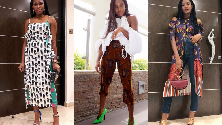 8 Looks To Prove Lisa Folawiyo Wears Her Own Label With Style!