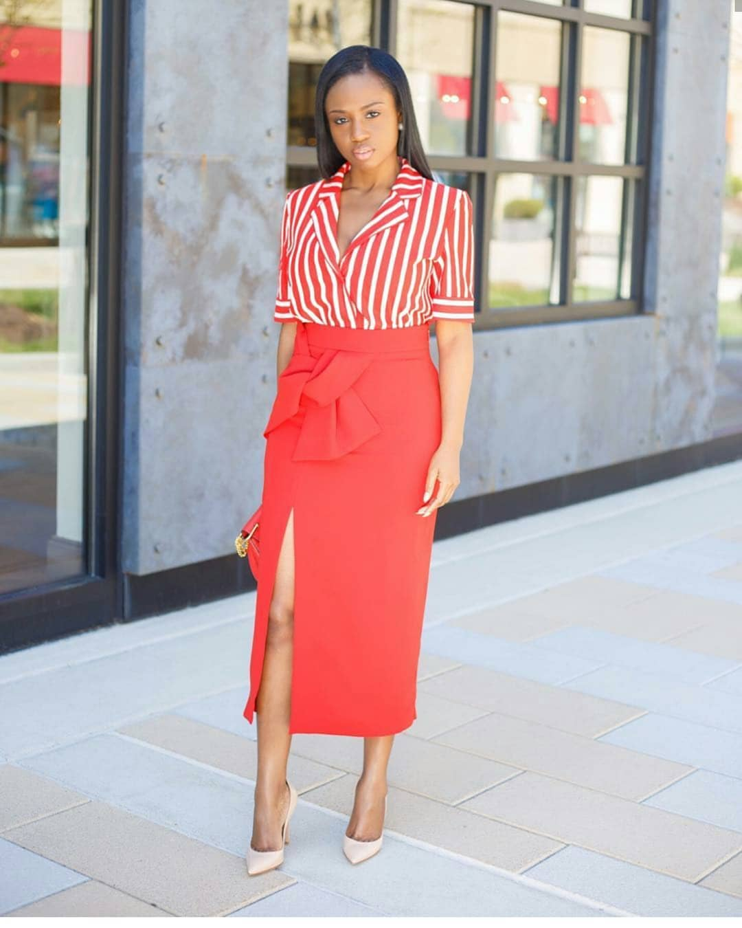 Corporate Drapes: Work Outfit Ideas For The Week!