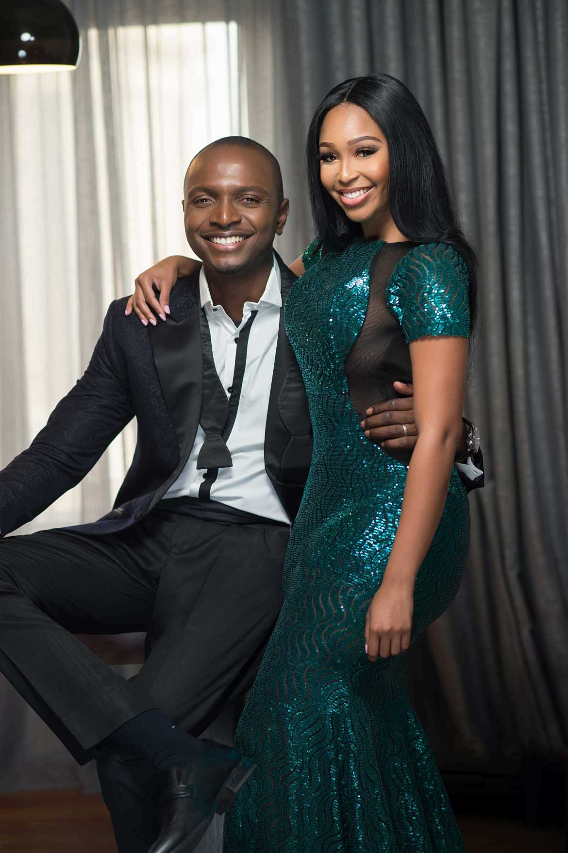 Minnie Dlamini Jones and Ik Osakioduwa