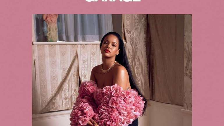Rihanna Covers The 15th Issue Of Garage Magazine