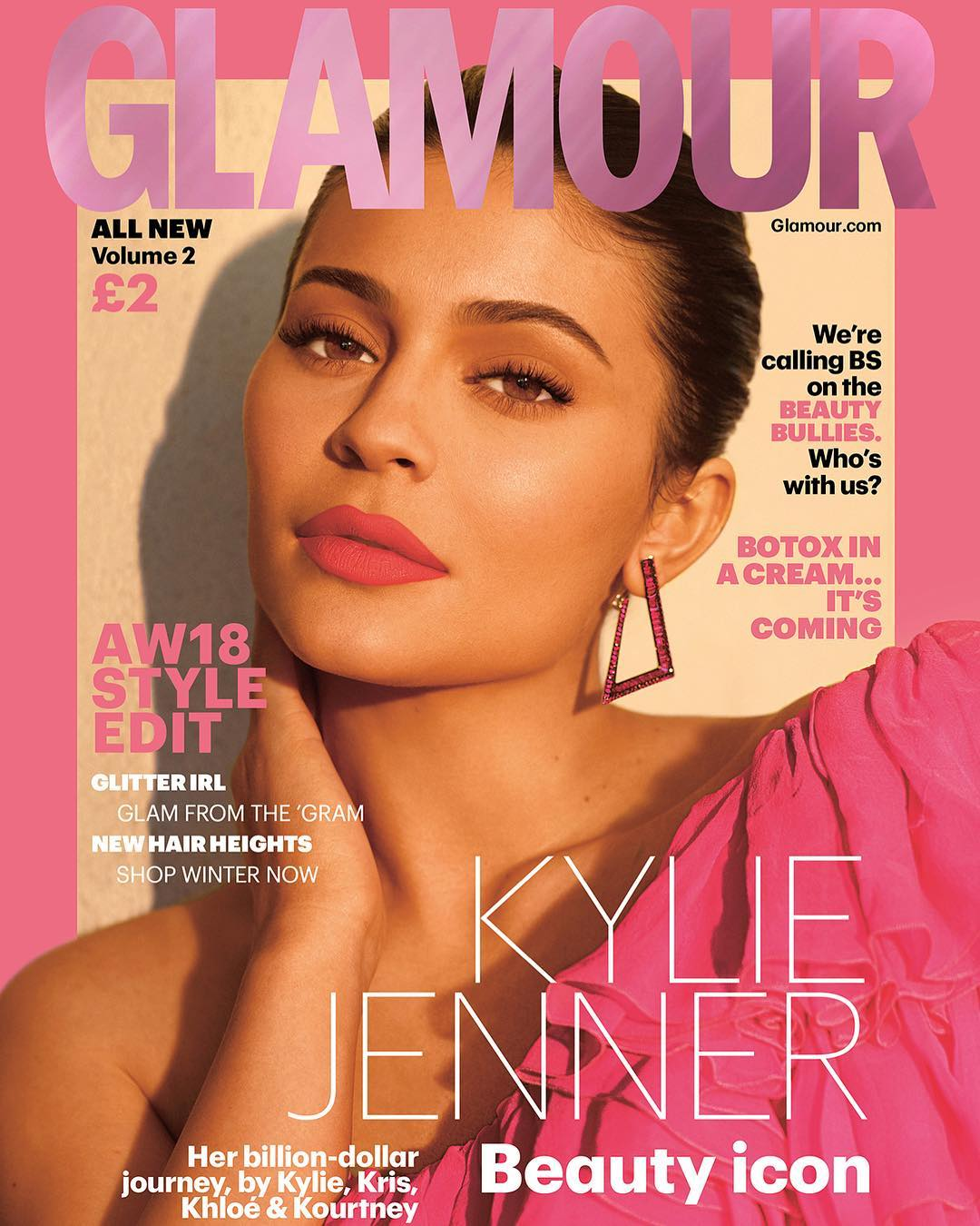 Kylie Jenner Is The Cover Girl For The Biannual Autumn Winter Issue