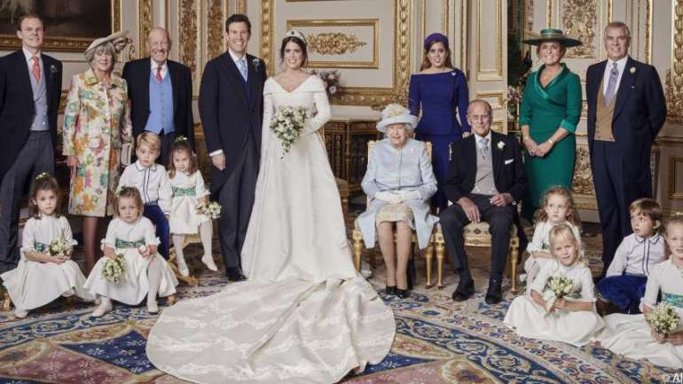 Check Out Princess Eugenie & Jack Brooksbank's Official Wedding Portraits