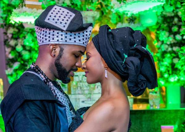 Adesua Etomi-Wellington & Banky W Give Us Some Couple Goals As They Celebrate Their Tradiversary