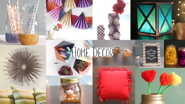 DIY: Top 20 Home Decor Ideas You Should Try Out