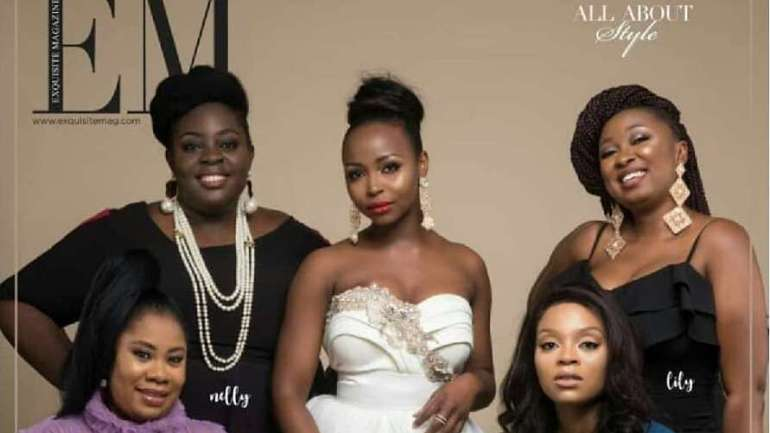 2018 ELOY Awards Nominees Nelly, Wanni, Tubo, Nonye And Lilly Cover Exquisite Magazine's November Issue