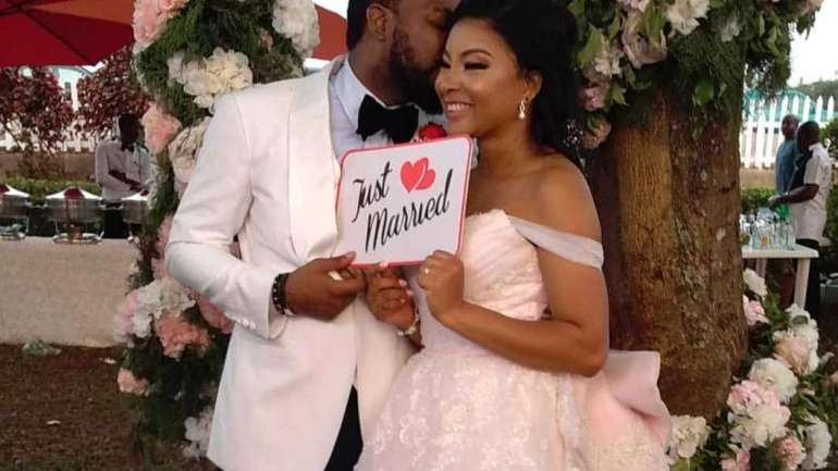 #Isquared18: Pictures From Linda Ejiofor & Ibrahim Suleiman's White Wedding