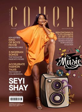 Seyi Shay Is The Cover Star For Accelerate Tv's 'The Cover' Magazine