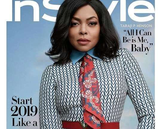 Taraji P. Henson Is The Cover Girl For InStyle Magazine's January 2019 Issue