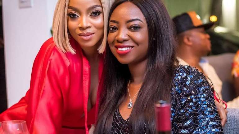 Pictures From Toke Makinwa's 34th Birthday Party
