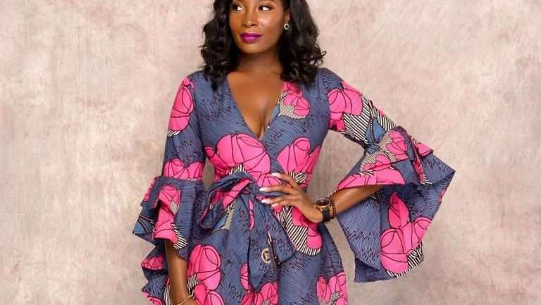 Ankara Styles #457: 5 Wrap Dresses That Would Inspire Your Next Ankara Style