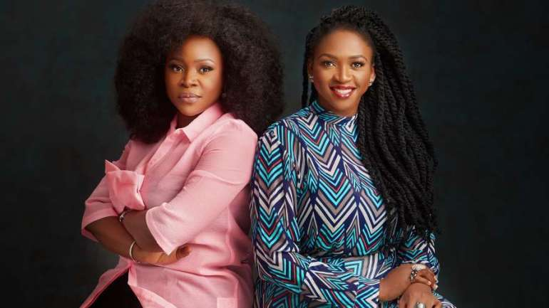 "Friendship Goals: Omawumi And Waje Have Launched ""Hermanes Media"""