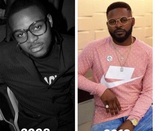 #10YearsChallenge: 16 Celebrity Throwback Pictures You Must See