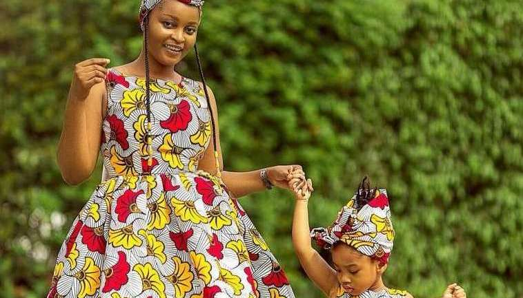 Ankara Styles #465: Twinning With Your Minnie Me!
