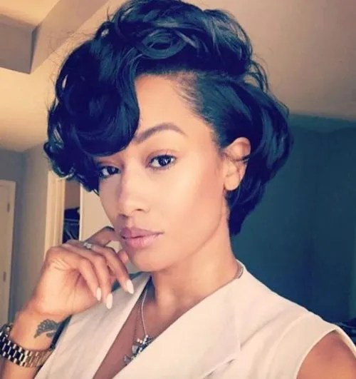 Check Out These Beautiful Short Hairstyles For Relaxed Hair Kamdora