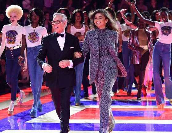 Zendaya Casts Only Black Models in Her Joyful Tommy Hilfiger Show