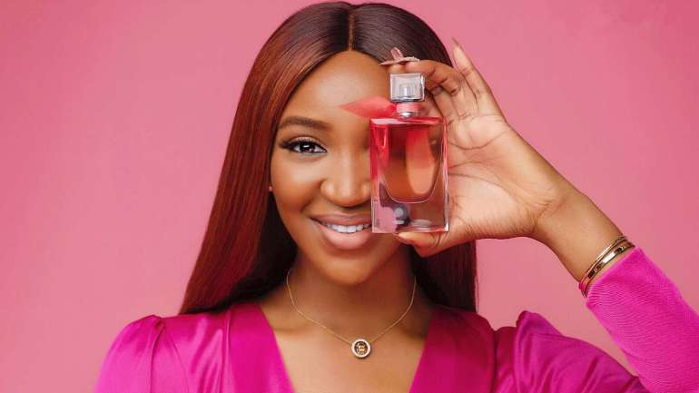 Idia Aisien Is Stunning In Lancome's 'La Vie En Rose' Campaign – PHOTOS