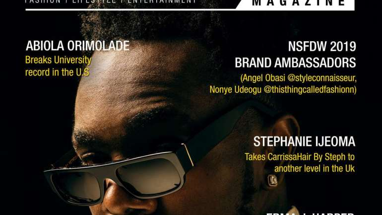 Patoranking Covers May Edition Of BlackNBold Magazine