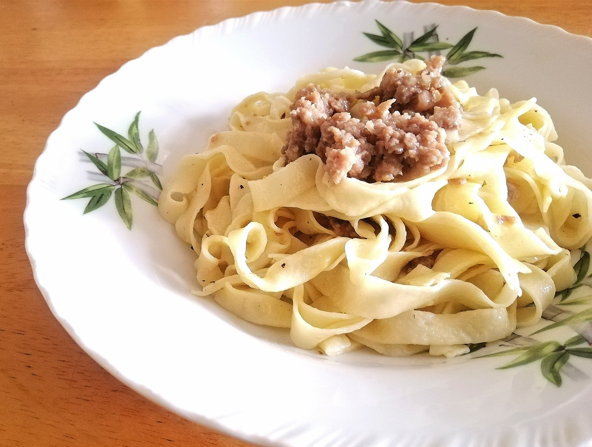 Easy DIY FETTUCCINE