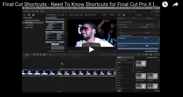 How To Use the Film Grain Effect in Final Cut Pro X [Tutorials by