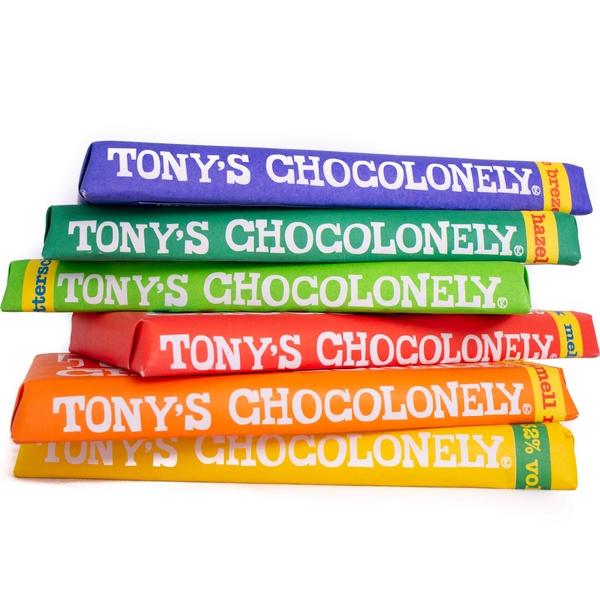 Kamellebuedchen Shop Lakritz Fudge Schokolade Tonys Chocolonley Stapel