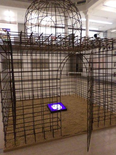 Dar El Saadia détail 4 oeuvre artiste contemporain Kamel Yahiaoui