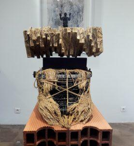 Paroles séquestrées 3 oeuvre artiste contemporain Kamel Yahiaoui