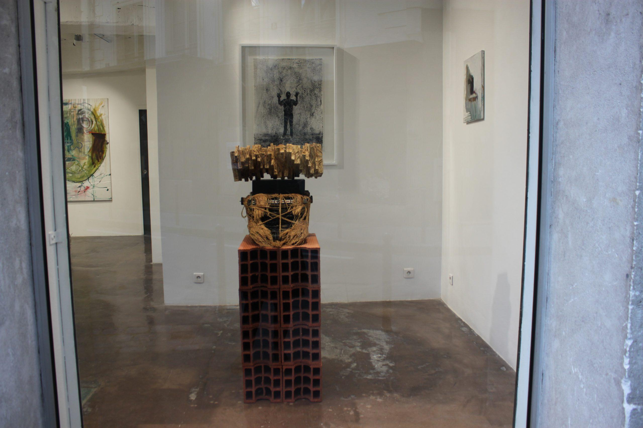 Paroles séquestrées présentation 2 oeuvre artiste contemporain Kamel Yahiaoui