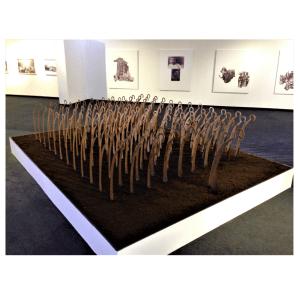 L'armée des faux oeuvre artiste contemporain Kamel Yahiaoui