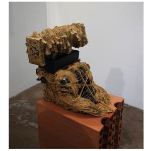 Paroles séquestrées 1 oeuvre artiste contemporain Kamel Yahiaoui