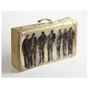 Mohamed reprends ta valise oeuvre artiste contemporain Kamel Yahiaoui