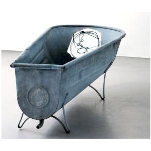 Baba au pays des merveilles 3 oeuvre artiste contemporain Kamel Yahiaoui