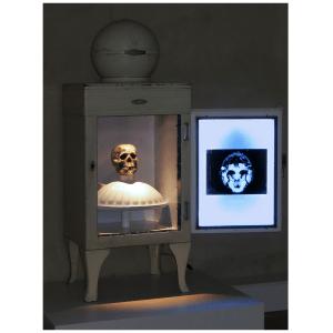 Chambre froide oeuvre artiste contemporain Kamel Yahiaoui
