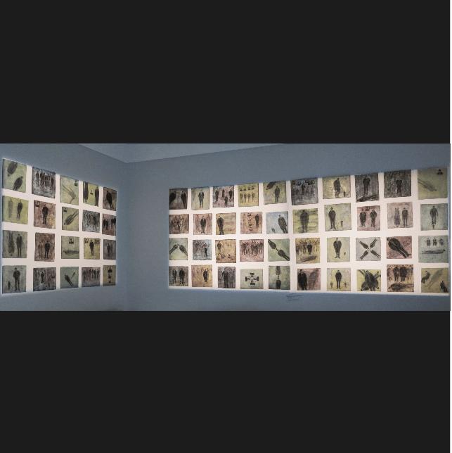 fenêtres rupestres oeuvre artiste contemporain Kamel Yahiaoui