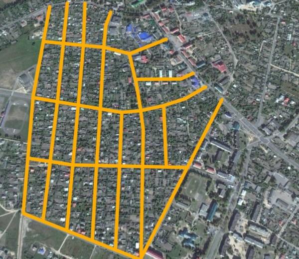 Прямоугольная система улиц