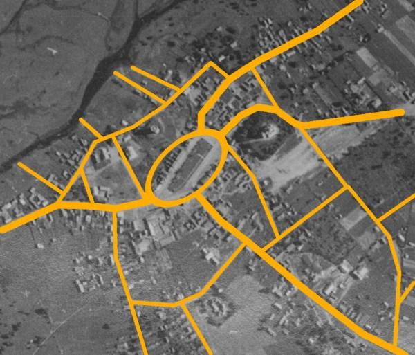 Веерно-дуговая система улиц