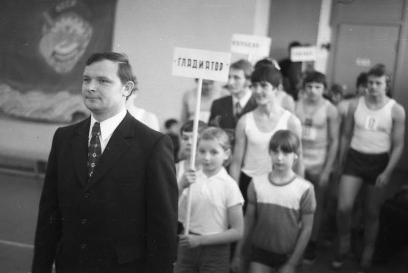 Віктар Іванавіч Баранаў, 1976 год