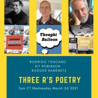 THE THREE R's POETRY ZOOM AND BENEFIT